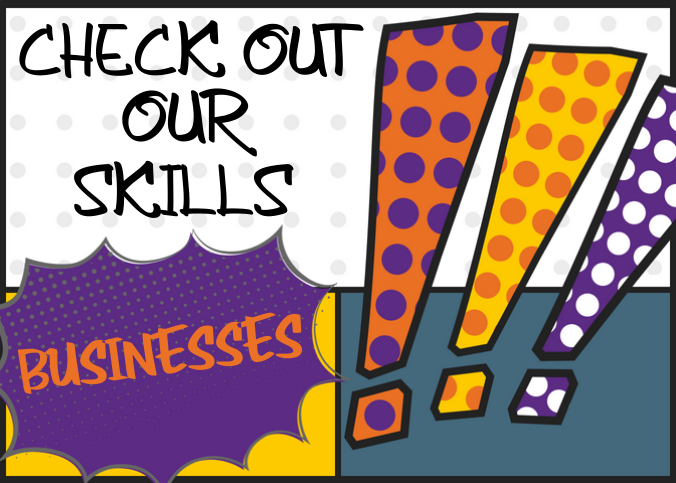 Check out our skills, Businesses.